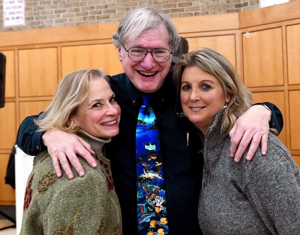 Jody, Gary, and Judy Enjoying time together at the Long Island Divers Association Film Festival 2019