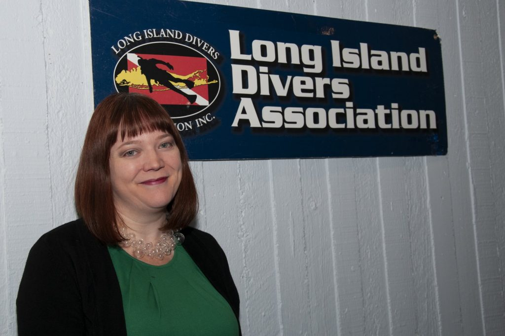 Kristen Regan at the Long Island Divers Associaton Film Festival 2019